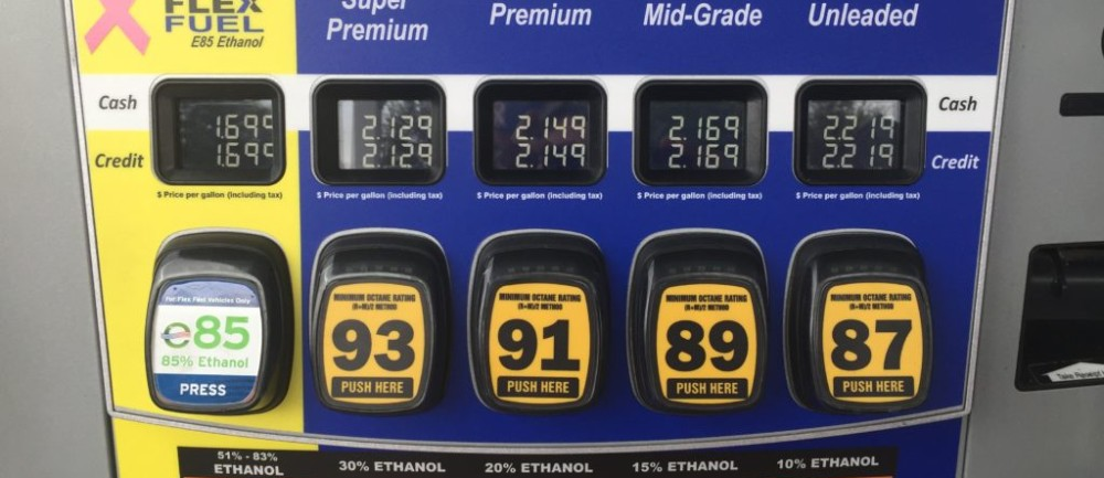 The Best Value of Ethanol