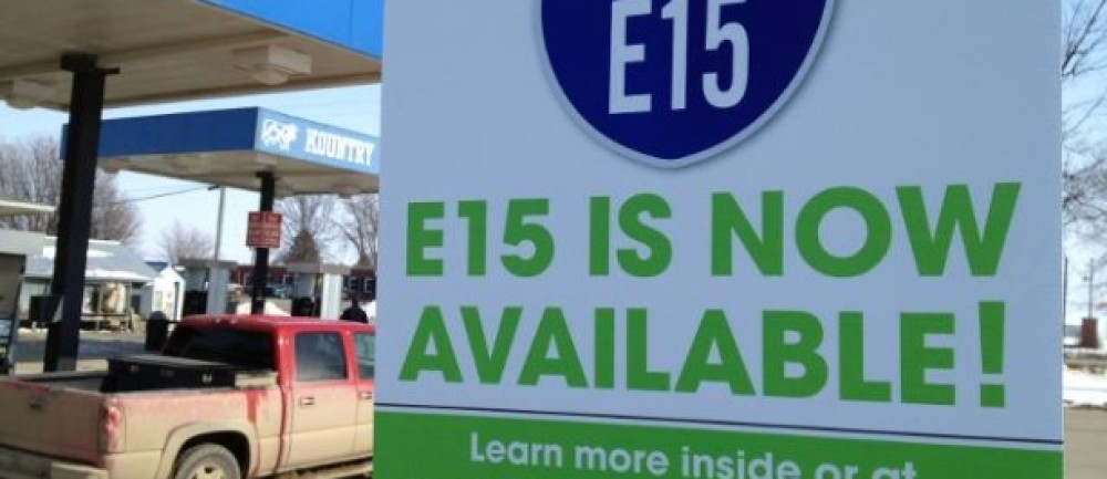 The Octane Rating of E15