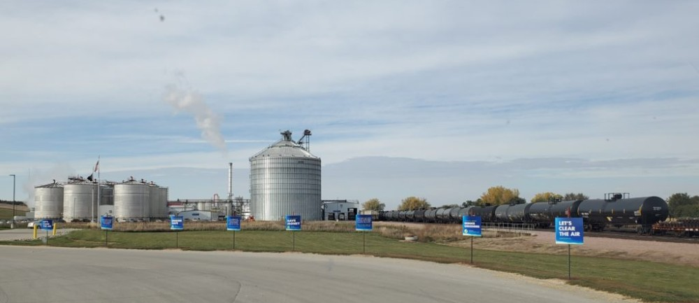 Providing Ethanol Education During Harvest